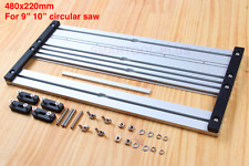 """Universal Circular Saw Guide Track Saw Base Plate for 9"""" 10"""" saw"""