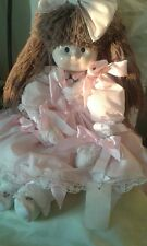 """Sarah-Anne deamer China Doll Rara Vintage Fatto A Mano 1900 N. 1010 29"""" Natale £ £"""