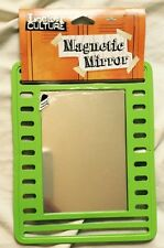 Magnetic School Locker Framed Mirror Green Supplies