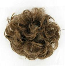 chouchou chignon cheveux châtain clair doré ref: 17 en 12