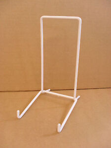 Plate stand 6'' strut plastic coated x2