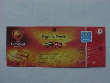Euro 2004 1er match 13 BULGARIE DANEMARK ticket VIP complet parfait état