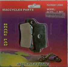 Honda Disc Brake Pads XLR250R/III 1991-1992 Rear (1 set)