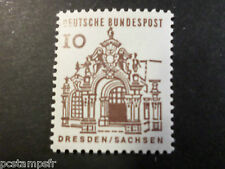 ALLEMAGNE FEDERALE, RFA 1964 GERMANY, TP 322, EDIFICES HISTORIQUES, neuf** MNH