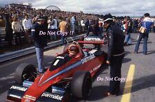 Niki Lauda Parmalat Brabham BT46 Canadian Grand Prix 1978 Photograph