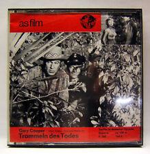 as film F. 700, Super 8 Film, S/W, Ton, 120 m, Trommeln der Todes 4, Gary Cooper