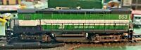 HO scale Burlington Northern  Diesel Locomotive  no 853