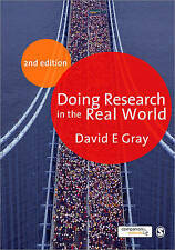 Doing Research in the Real World, Good Condition Book, Gray, David E, ISBN 97818