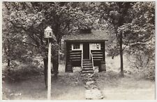 Scene At Little Norway, Blue Mounds, Wisconsin - Vintage Real Photo Postcard