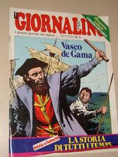 IL GIORNALINO=1982/5=VASCO DE GAMA=RAFFAELE PAGANINI=FRANCO CAUSIO POSTER=INSERT