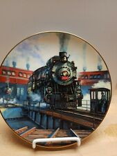 """""""Portrait of Steam"""", Ted Xaras Train Collector Plate"""