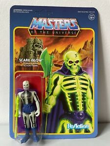 Masters Of The Universe SCARE GLOW ReAction Figure Nuova Super 7 #ebayheroes