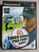 Tiger Woods PGA Tour 2003 (Sony PlayStation 2, 2002) PS2 - CIB Complete - Tested