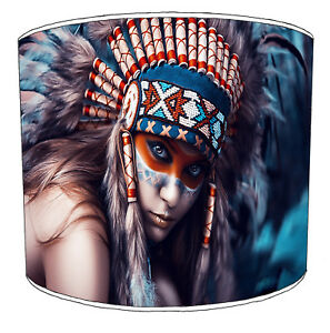 Lampshades, Ideal To Match Wolf, Native American & Dream Catcher Wall Decals