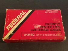 Federal Hi-Power 30-06 ammo box (Box Only) Advertising Display