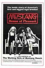 Mustang Poster 01 Metal Sign A4 12x8 Aluminium