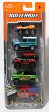 JUNGLE ADVENTURE 5-PACK * 2012 MATCHBOX * LAND ROVER 90 '72 FORD BRONCO ATV 6X6