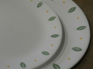 *NEW Corelle CITY GARDENS *Choose 10 1/4 DINNER or 8 1/2 LUNCH PLATE Leaf Green