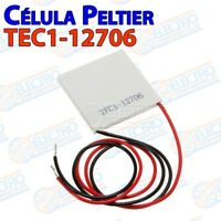 Celula Peltier TEC1-12706 12v 5A 60w 40x40 – Celda Termoelectrica Cooler frio -