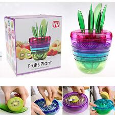 10 in 1 Fruit Salad Maker Fruit Vegetable Slicer Kitchen Tools Cutter Corer NEW