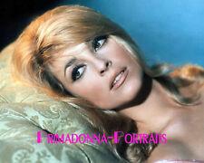 SHARON TATE 8X10 Lab Photo Color 1960s Sexy Messy Hair Model, Shine Portrait