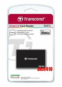 Transcend RDF2 Card Reader USB3.1 for CFast 2.0 AU