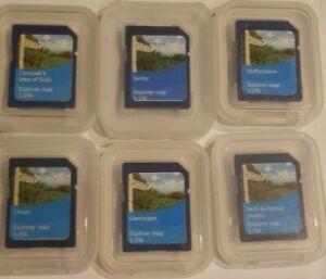 """Satmap Map Cards """"Various"""" 1:25k Explorer Map"""