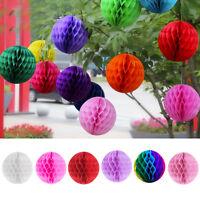 Flower Ball Paper Lantern Honeycomb Tissue Pom Pom Party Wedding Hanging Decor