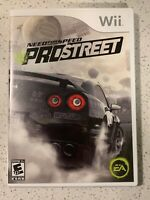 Need for Speed: ProStreet (Nintendo Wii, 2007) Complete Tested Working