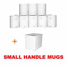 More details for sublimation mugs small handle 11oz with extra mug smash box option