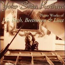 Piano Works for J.S. Bach, Beethoven & Liszt (CD, YDK)