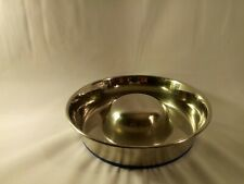 Slow Feed Premium Stainless Steel Dog Bowl Medium