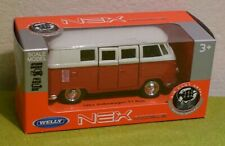 DIE CAST METAL WELLY SCALE MODELS 1963 VOLKSWAGEN T1 BUS