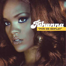 ★☆★ CD Single RIHANNA Pon de replay 2-track CARD SLEEVE ★☆★
