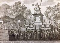 Fête de la liberté 1792 Concorde Paris Savoie Révolution Française Journal