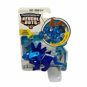 Hasbro Transformers Rescue Bots Playskool Heroes Chase the Rescue Dinobot RARE