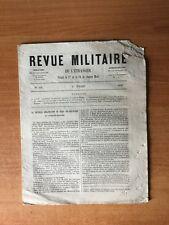 REVUE MILITAIRE DE L'ETRANGER  : n° 506 : la nouvelle organisation du t