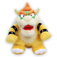 """(1244) Bowser 15"""" Large Stuffed Plush Toy Official Little Buddy USA Super Mario"""
