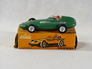 Solido Vanwall F1 #15 1/43 Never Unplayed IN Box