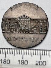 1794 Conder Halfpenny - Newgate Prison - Milled Edge, DH 391-3 (B517)