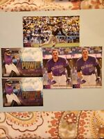 NOLAN ARENADO 2020 Topps Stadium Club WIDEVISION BOXTOPPER #120 Rocks w/ 4 Base