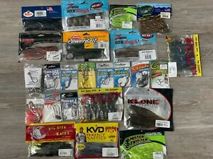 Huge Lot of Bass Fishing lures - see photos! Massive collection
