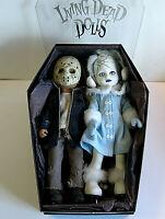 Living Dead Dolls Frozen Charlotte & Jason,  2 HTF Sold Together