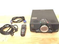 Epson PowerLite 5550C Projector w/ Remote Control, VGA & Power Cord & Case