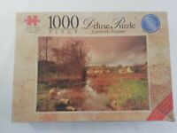Crown Deluxe 1000 Piece Deluxe Cotswolds England with Glue and Sponge Kit