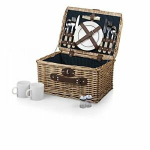 Picnic Time Picnic Time Catalina English Style Picnic Basket with Service for...