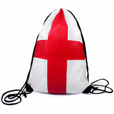 ANGLETERRE Anglais Drapeau St George Avec Cordon De Serrage Gymsac Football Sac