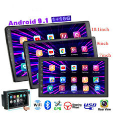 1080P 10.1'' Android 9.1 Car Stereo Radio GPS WIFI 2DIN MP5 Player 2.5D Screen