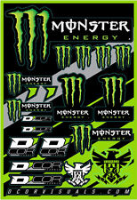 DECAL SHEET MONSTER ENERGY