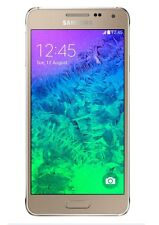 Samsung Galaxy Alpha 32GB AT&T Unlocked 4G LTE Octa-Core 12MP Smartphone - Gold